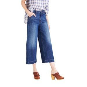 Madewell Wide Leg Crop Jeans - EUC!!